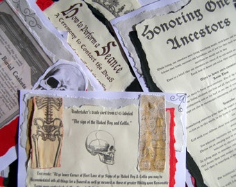 Pages for your Book of Shadows Gothic (Digital Download) - REF 18