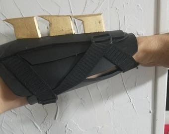 Batman tactical gauntlets. Justice League style. Nightwing armour