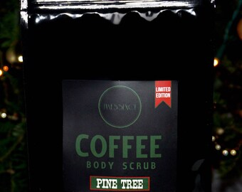 SALE! Pine Tree Organic Natural Exfoliating Coffee Scrub Body Skincare 150g Limited Edition