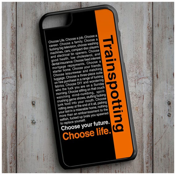 Choose Life Trainspotting Quote Cool New Case Cover For Any