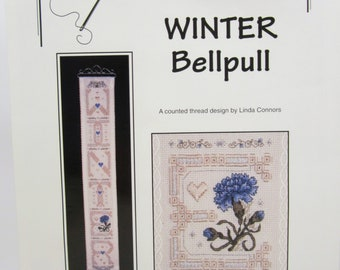 Calico Crossroads Winter Bellpull Counted Thread Design Pattern