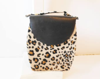 Leopard Jewelry Case, Vintage Jewelry Box, Leopard Print Case, Jewelry Storage, Travel Accessory, Glam Travel Case, Vintage Jewelry Box