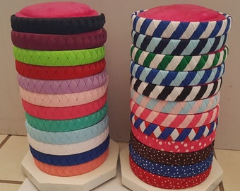 Buy 3 get 1 free! ribbon woven headbands in many colors!!!