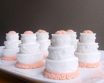 Unique Wedding Favors for Guests - Bridal Shower Favors, Wedding Party Favors, Cake Soap Favors, Wedding Favors Soap - Set of 10
