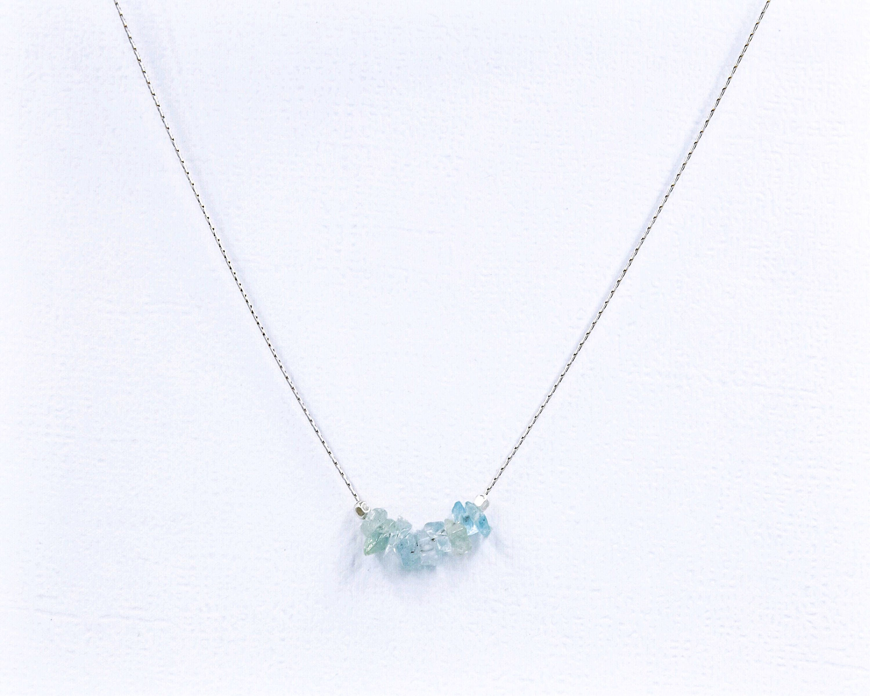 aquamarine jewelry necklace birthstone necklaces march borsheims