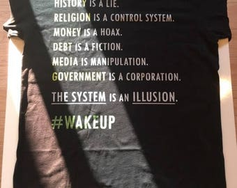Collectively Conscious - The System Is An Illusion T-shirt