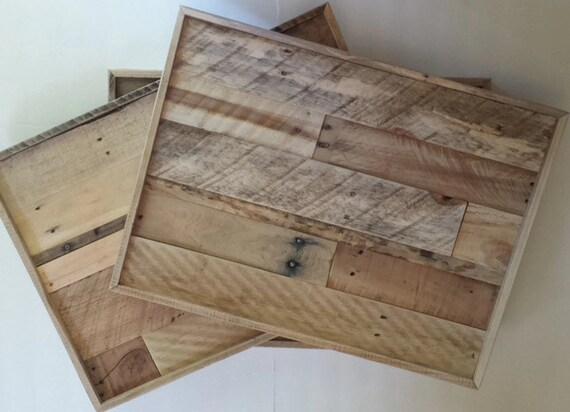Pallet Frame 18 x 24 reclaimed wood rustic wall