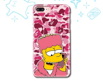 iPhone X Case iPhone 7 8 6 5 5S SE Case Samsung S8 S7 S6 S5 Case iPhone 8 7 6 Plus Case Samsung S7 S6 Edge Case Luxury Funny Fun pink 90s
