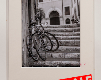 Rome, Italy, black & white A4 print SALE-29