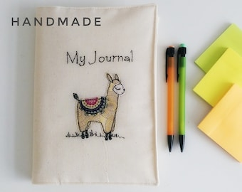 Lama bullet journal notebook freehand machine embroidery ruled paper doodle blog planner diary secrets to do lists