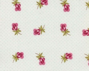 Verna Mosquera Sweet Escape Miniature Roses Color Mint All Fabric is mailed Via PRIORITY MAIL.