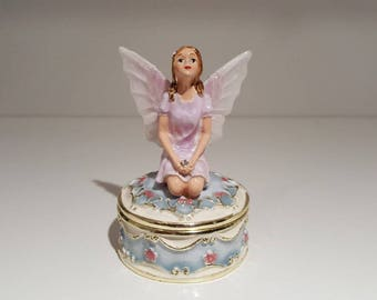 Blue Fairy Trinket Box