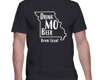 Drink MO Beer | Customized T-Shirt | Brew Local