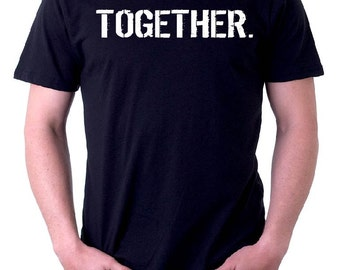 The BLACK & WHITE Line - oneWORD TOGETHER Tee
