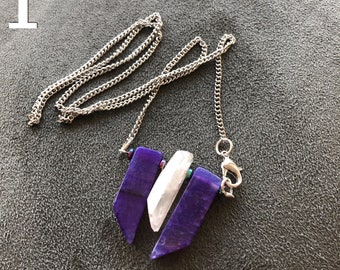 Celestial Crystal Spikes Necklaces