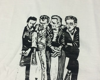 The clash hanga print tee