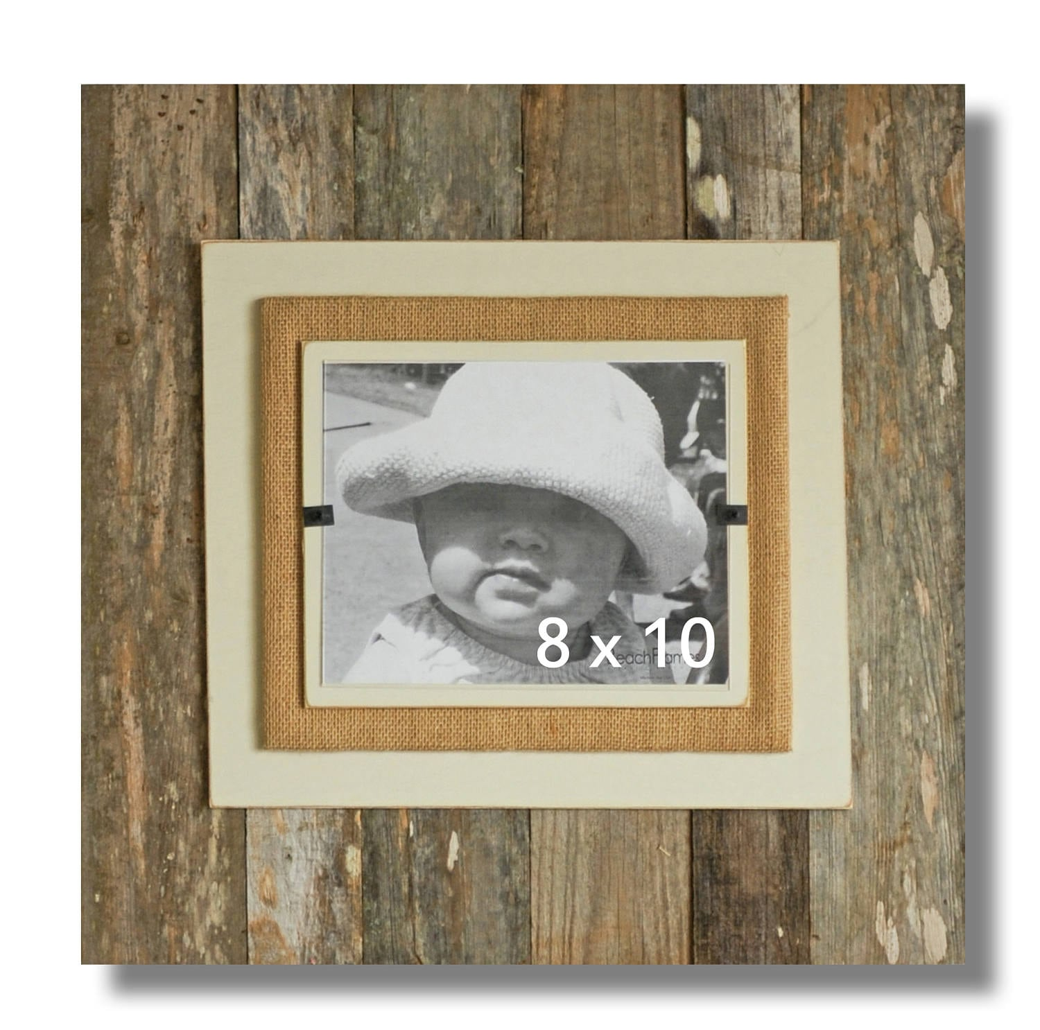 Reclaimed wood picture frame 8 x 10 4 x 6 5 x 7 picture zoom jeuxipadfo Images