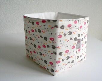 Baby shower gift basket Storage basket Nursery decor Organic toy storage basket Diaper caddy Baby girl gift Keepsake box