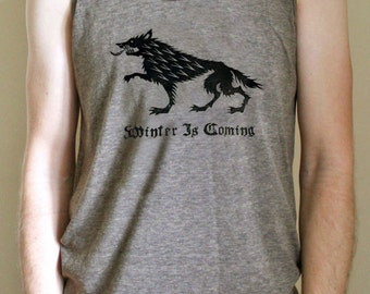 DISCONTINUED! Game of Thrones // Winter Is Coming // House Stark Direwolf Sigil