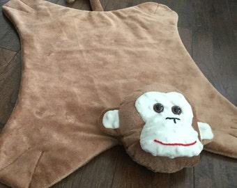 Monkey Minkey Blanket Pet