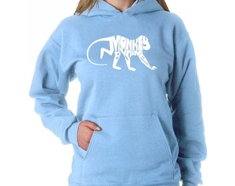 Women's Hooded Sweatshirt - Monkey Business