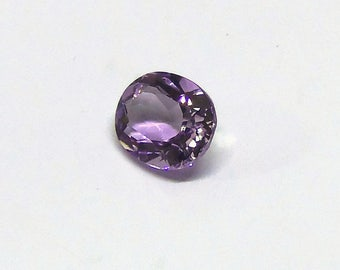 Amethyst Oval Cut top facet Natural purple Gemstone Flawless clarity AAA 4.60 carats Semi precious stone