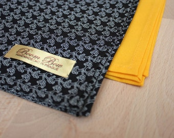 Mens pocket square Two-Pack Cotton Handkerchiefs pocket square Boom Bow PS112   PS008