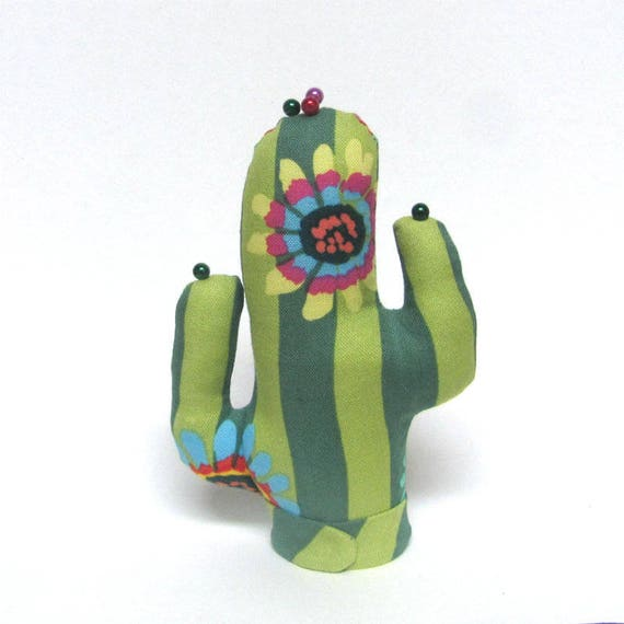 Short Kaffe Fassett Fabric CACTUS-Stand ~ Ready to Ship