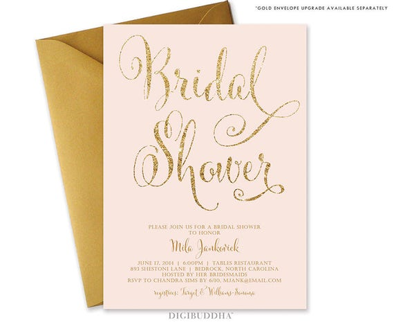 cheap invitation model modern bridal shower ideas invitations chic show cards design