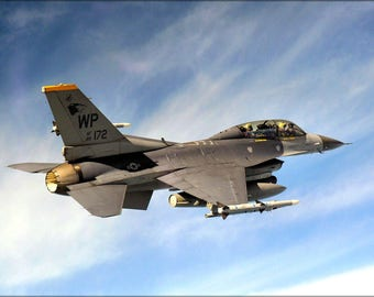 Poster, Many Sizes Available; 80Th Fighter Squadron F 16