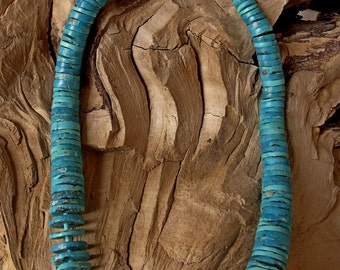 Turquoise Necklace Choker Lenght RF152