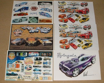 Vintage Hot Wheels Red Line Convention Poster Prints Rare****Vintage*****