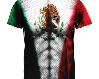 Cinco De Mayo Super Mexicano All Over Mens T Shirt