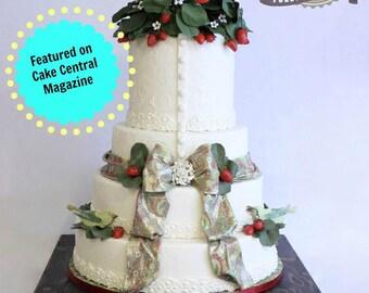 Rustic Wedding Country Rustic Wedding Solid Wood Cake Cupcake Stand Beach Wedding Cake Stand Candy Bar