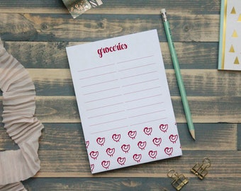 Chicken Grocery Notepad | Grocery List | Shopping Note Pad | Gift for Her | Christmas Gift | Teacher Gift | Stocking Stuffer | Gift for Mom