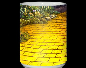 Yellow Brick Road Wizard of Oz 15 oz Ceramic Mug