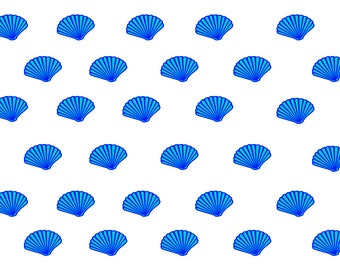 VWAQ Vinyl Wall Art Stickers Decals, Sea Shells Nautical Beach Decor - Peel & Stick VWAQ-POF2