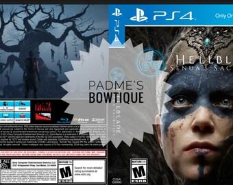 Custom PS4 Cover DIGITAL DOWNLOAD - Hellblade: Senua's Sacrifice