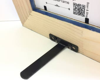 Picture Frame Easel Mate - Metal Picture Frame Easel, Picture Frame Easel, Picture Frame Stand, Picture Frame Hardware, Frame Easel, Framing