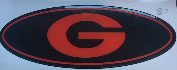 Domed Ford Emblem Overlays Georgia Bulldogs 3m F 150 F 250