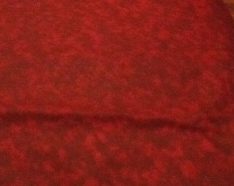 Plastic Bag Holder Burgundy/Garnet Textured Print Fabric