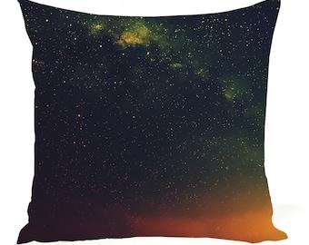 Universe Cosmic Galaxy Pillow Case - Space Star Field and Nebula Pillow Sham