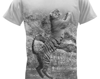 Leaping Tiger T-Shirt-2
