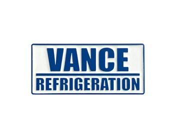 Vance Refrigeration - Enamel Pin