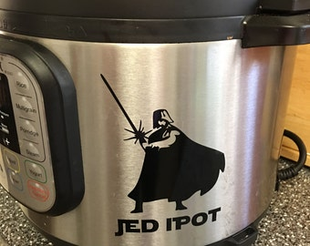 Jed I Pot Decal
