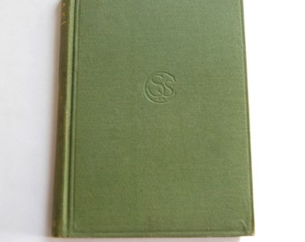 Antique Book, Stories by Foreign Authors, Spanish
