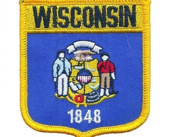 Wisconsin Patch (Iron on)