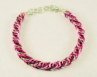 Chainmaille Friendship Bracelet