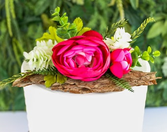 Woodland Floral Topper- Cake topper, prop cake, party decor