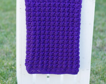 Reversible Ripples Digital Crochet Pattern | Baby Blanket Pattern | Crochet Pattern